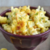 Roasted Cauliflower with Pine Nuts and Basil