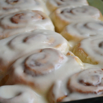 Cinnamon Rolls with Vanilla Cream Cheese Icing