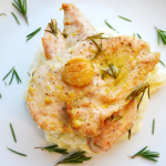 Garlic Chicken With Rosemary and Lemon