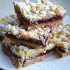 Blackberry Jam Shortbread Bars