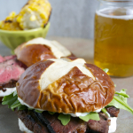 Steak Sandwich with Creamy Horseradish Sauce