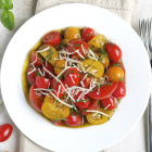 Marinated Tomatoes with Parmesan Cheese