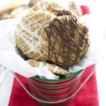Handmade Holidays: Mini Chocolate Drizzle Cookies