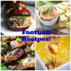 A bunch of Football Food Recipes