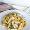 Butternut Squash and Kale Pasta Bake - stuckonsweet.com - Jessica Loizzo
