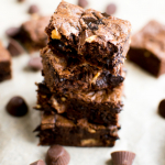 Chocolate Peanut Butter Cup Cookie Bars