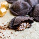 Chocolate Caramel Sugar Cookies