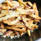 Crispy Air Fryer Garlic Parmesan Fries
