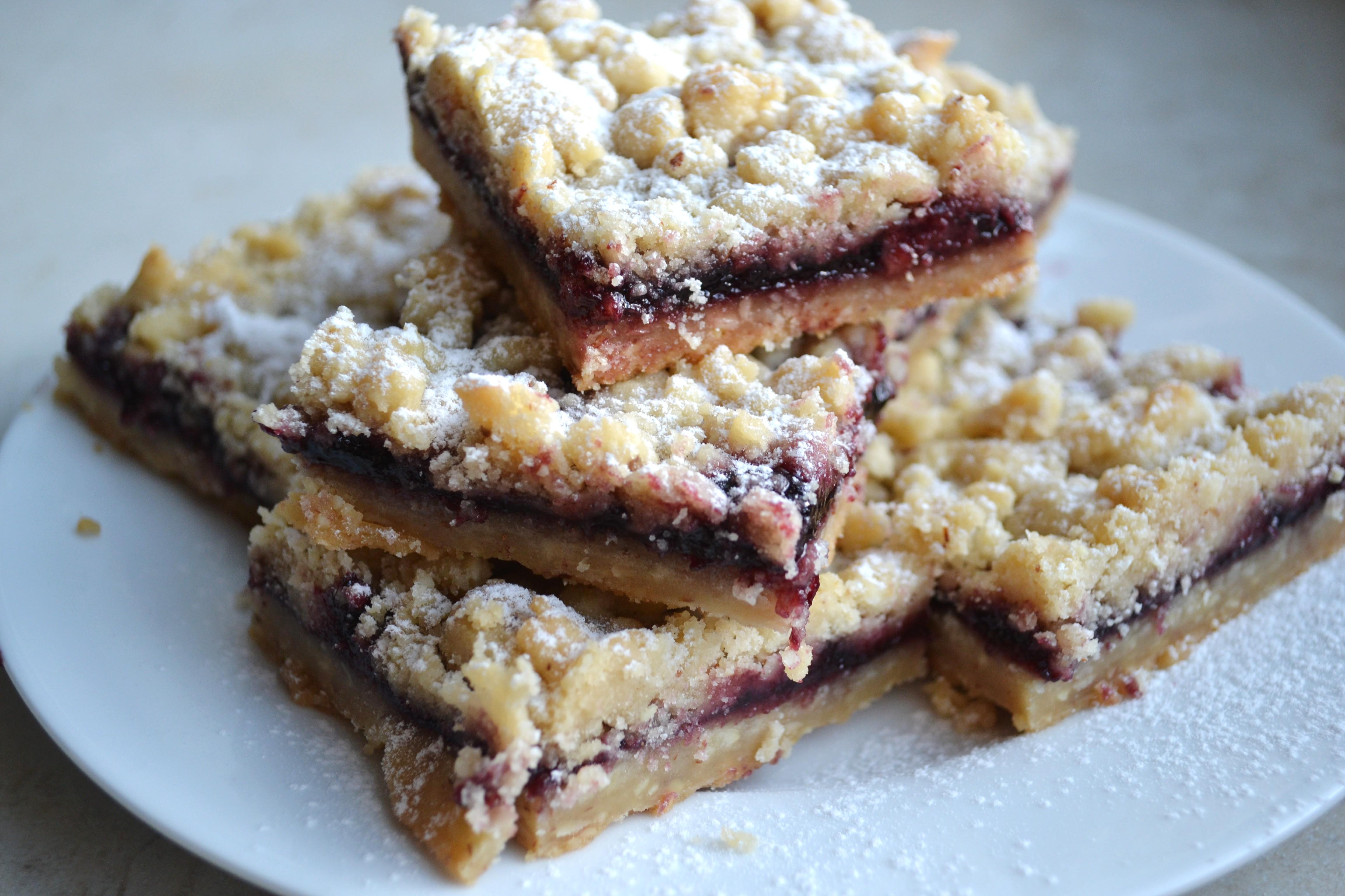 recipe: shortbread bars with jam [40]