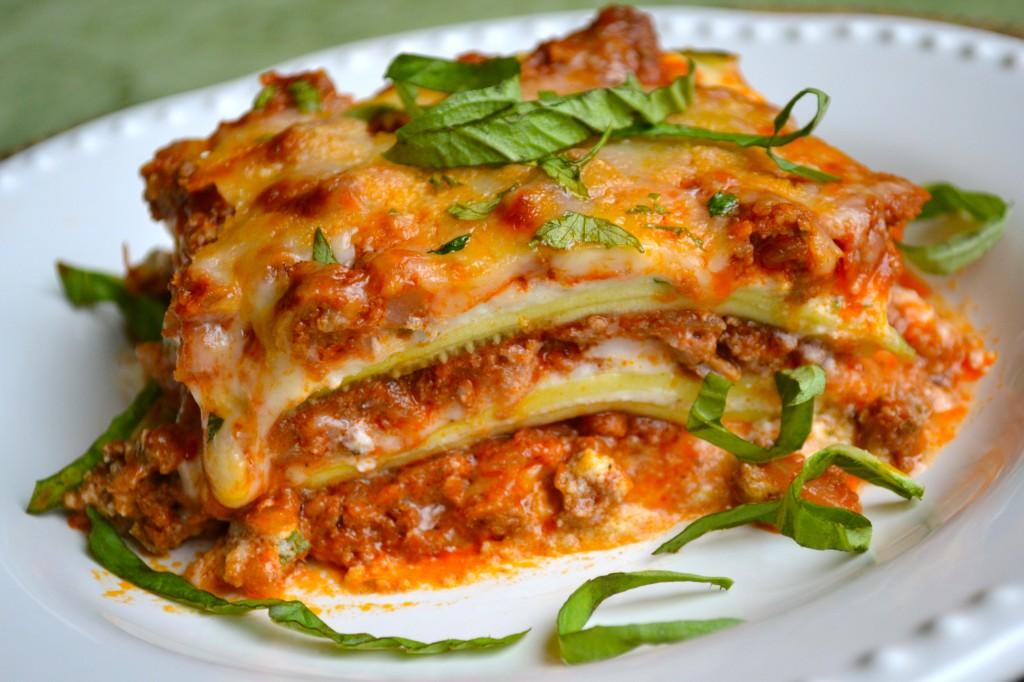 Zucchini Lasagna - Stuck On Sweet