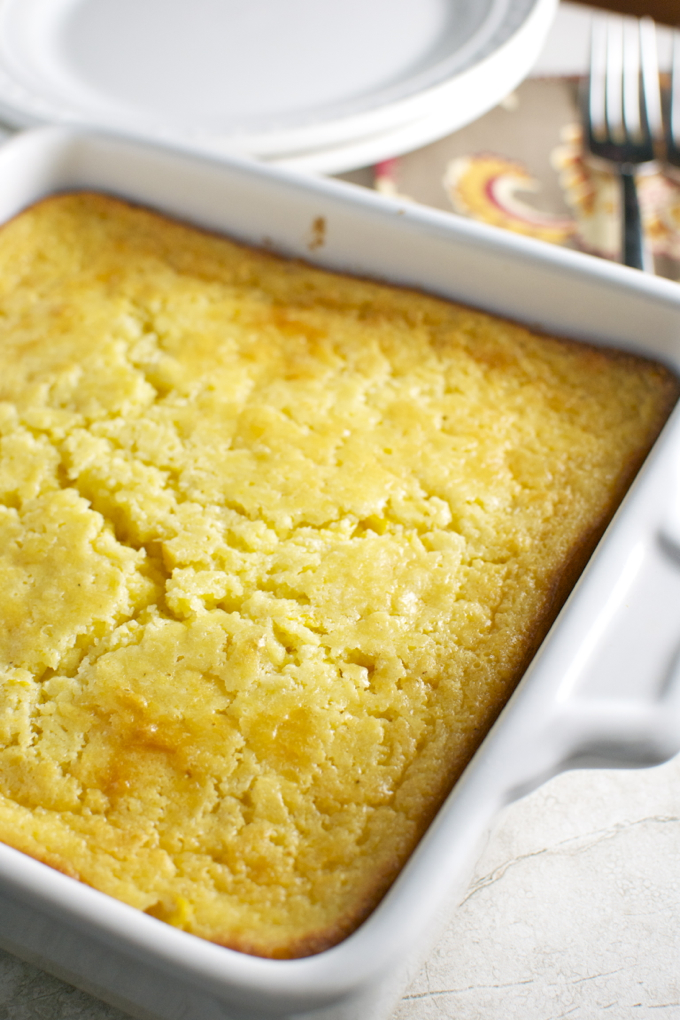 Corn Casserole Perfect For A Thanksgiving Side Dish