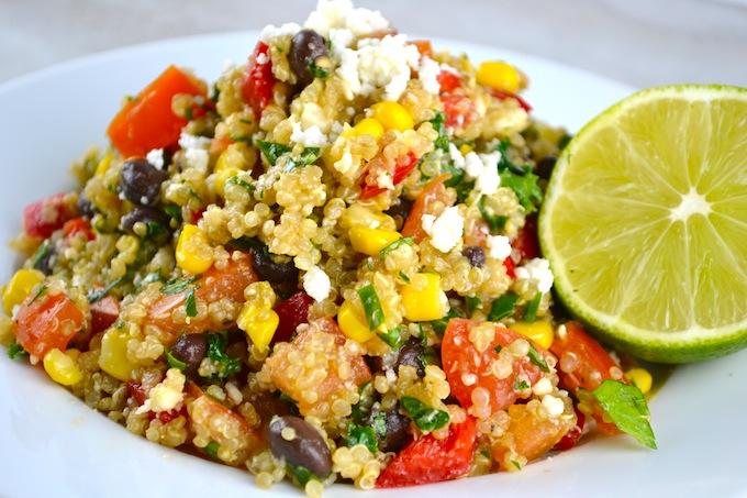 Southwest Quinoa Salad - Stuck On Sweet