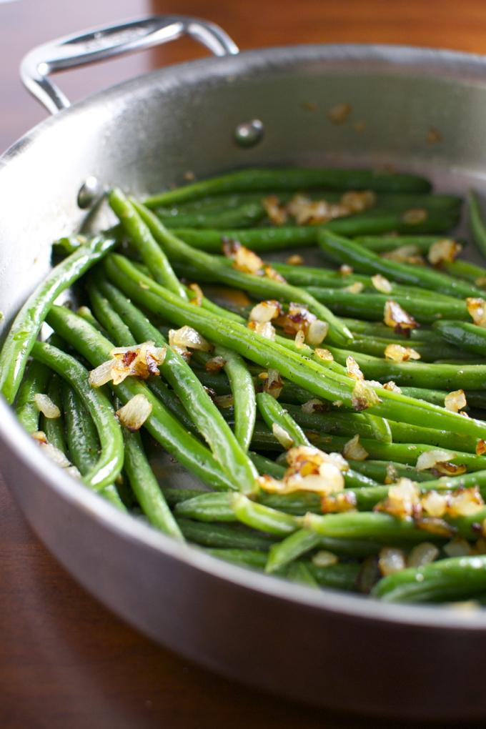 Basic Sauteed Green Beans Recipe — Dishmaps