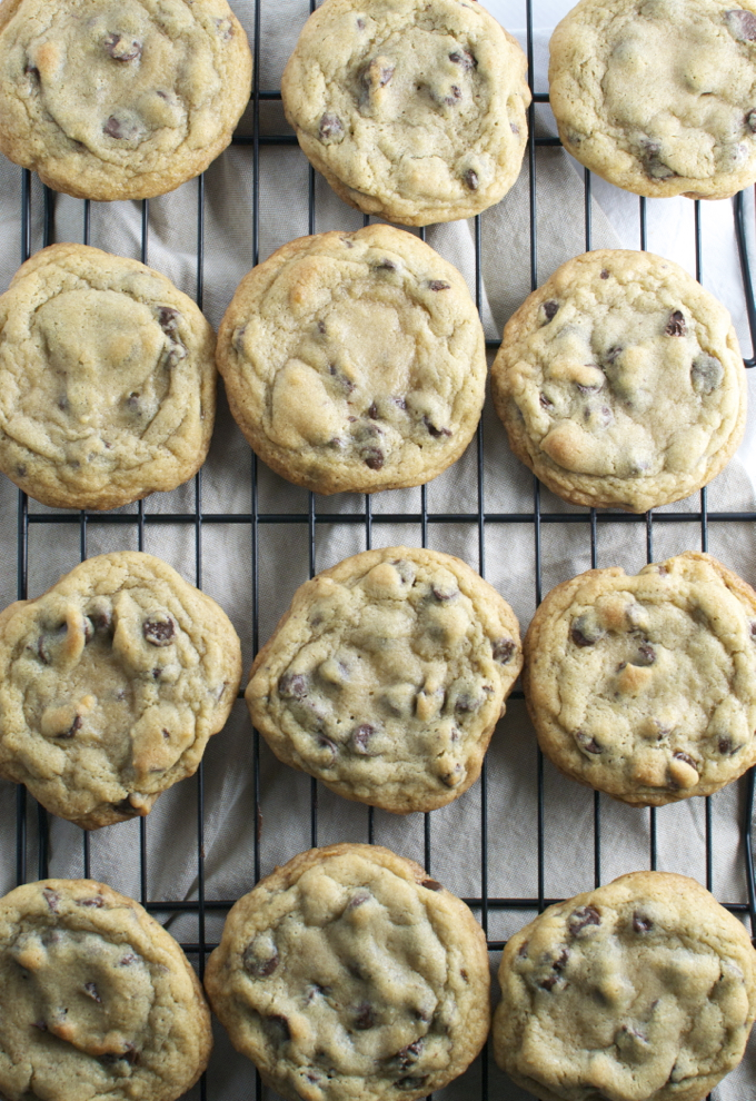 Bakery Style Chocolate Chip Cookies | stuckonsweet.com - Stuck On ...
