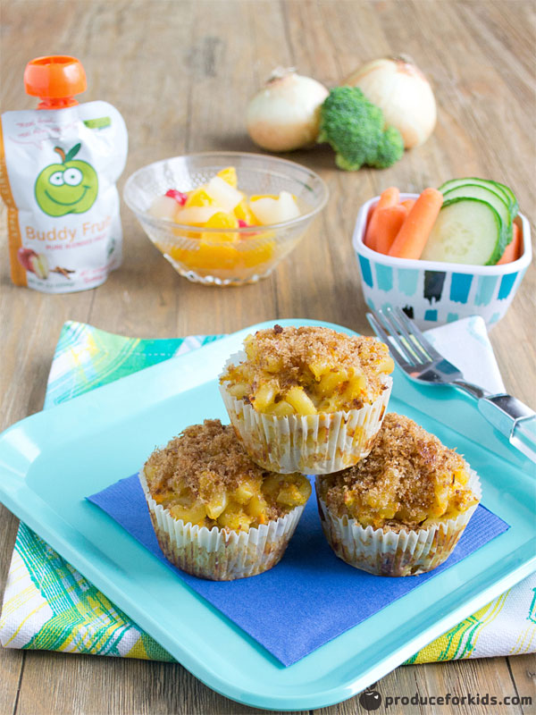 Mac N Cheese Muffins Produce For Kids Power Your Lunchbox Pledge