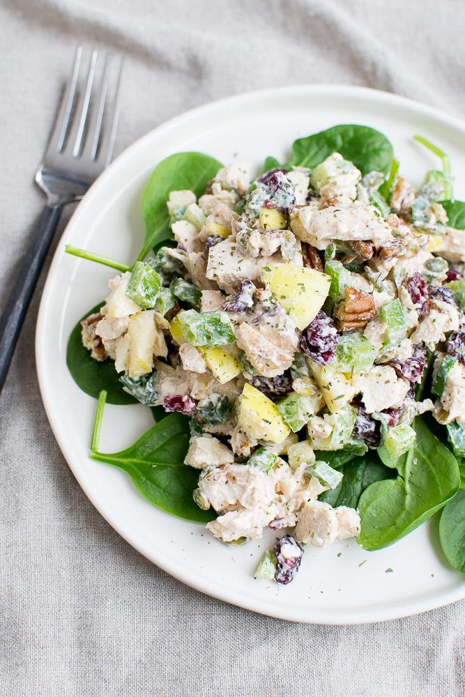 Healthy Crunchy Chicken Salad